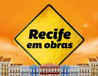 Aplicativo Recife em obras.