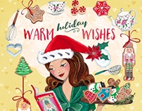Christmas Illustrations | Cartita Design 2015