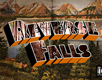The Reverse Falls Project - Webseries Graphics