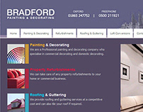 'Bradford Painting & Decorating' Branding Identity