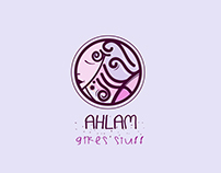 Ahlam logo name
