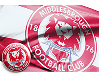 Middlesbrough FC - Crest Redesign Concept