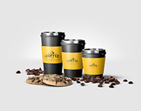 Coffee Cup & Bag Design