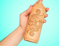 TOG Wooden spray cans