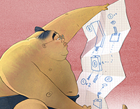 Illustrations for the BuzzSumo blog