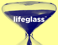 Lifeglass. Intragenerational timepiece.