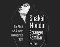 Shakai Mondai gig poster