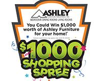 Ashley Furniture $1,000 Shopping Spree Logo