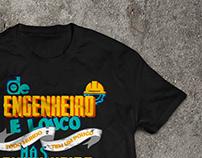 Arte em lettering para Camiseta