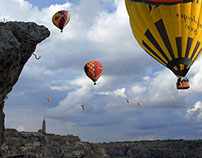 Matera Balloon Festival - Shooting