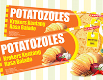 Packaging Design - Potatozoles Khong Guan