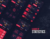 DESIGN UX / League of statistics