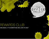 Calling Card/Rewards Club Design (The Office Project)