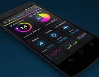 LED Hula Hoop Controll Mobile App