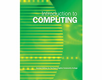Introduction to COMPUTING -Digital book cover Design