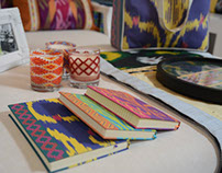 ikat and bedouin pattern collection