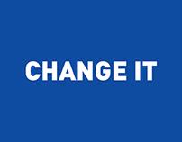Change it by SDC
