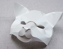 Curved Fold Origami - Fox