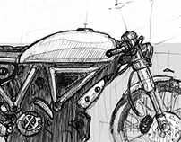 Daily Motorcycle Sketch - 15