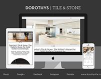 Dorothy's Tile & Stone • Brand Identity
