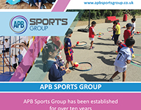 APB SPORTS GROUP Brochure Design