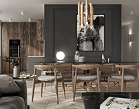 RENDERING OF APARTMENT IN WARSAW