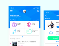 Cloud Storage App
