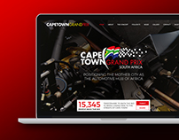 Cape Town Grand Prix • Responsive Website UX