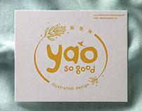 2018, yaosogood, logo design
