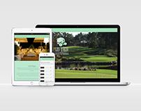 Golf D'Agua responsive website