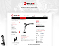 ACJESE 24 - Specialized shop with automotive parts