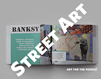 Street Art for the People - Book Design