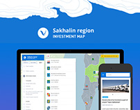 UI/UX for Sakhalin investment map