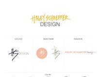 Branding for Haley Schaeffer Design