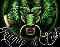 Logo - Dragão de Tinta