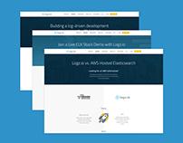 SAAS Website for Logz.io