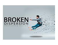 Broken Dispersion Photoshop Action