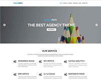 Projapoti One Page HTML5 Bootstrap Web Template