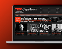 TEDxCapeTown Website