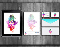 Personal Identity, Logo, Business Card And Stationary.