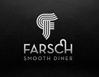 Farsch. The smooth diner. Brand identity