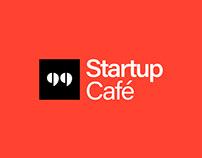 Startup Café - Digital visual identity