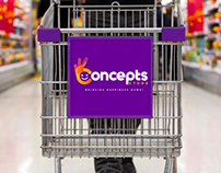 Concepts Stores Re-branding