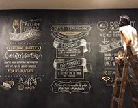 Chalkboard - Restaurante Comendador