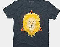 The King! Lord Narasimha tee shirt design
