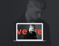 VERVE website concept