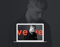 VERVE website concept