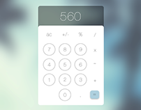 Dailyui - #004 Calculator