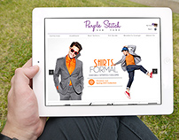 Website UI - Purple Stich - Ecommerce Website
