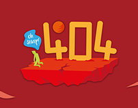 404 Not Found / Error page